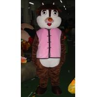 Wholesale Good ventilation squirrel chipmunk mascot animal costumes for kid from china suppliers