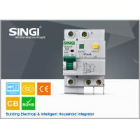 Wholesale Singi Residual - current mini electrical circuit breaker 1P  2P 3P 4P from china suppliers