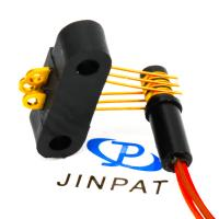 Quality 3 Circuits Orange Wire Separate Slip Ring , Best Gold Plated Contact Materials For Medical Field for sale