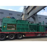 Wholesale Straw Cardboard Horizontal Baling Machine Semi - Automatic With Manual Belting from china suppliers
