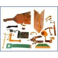 Buy cheap Yellow PI FPC , Flexible PCB Board single layer 1 OZ , White Silkscreen from wholesalers