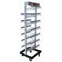 Wholesale Two Side Wire metal shelving rack Retail Store Modular With Multiple Hooks from china suppliers