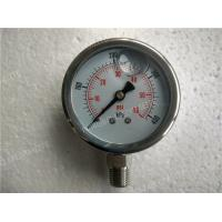 "Wholesale 2.5""( 63mm ) All Stainless Steel Polished Liquid Filled Manometer Pressure Gauge from china suppliers"