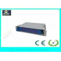 Wholesale 24 Core ODF Fiber Optic Distribution Box Rack Mount Outdoor Distribution Box from china suppliers