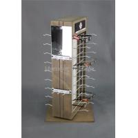 Quality Custom 2-Way Sunglasses Display Case , Wooden Sunglasses Display For Retail Shop for sale