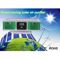 Wholesale OEM 1 W Green Silver Eco-friendly Car Solar Air Purifier with Negative Ions from china suppliers