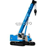 Wholesale 3m Lifting range Hydraulic Crawler Crane for piling , 1.79rpm Slewing speed from china suppliers