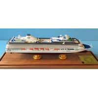 Wholesale Oceania Cruises Riviera Boat Cruise Ship Model With Original Engraved Corridor from china suppliers