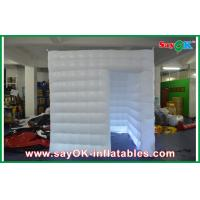 China Safe Waterproof Mobile Photo Booth White Oxford Cloth / PVC Coated on sale