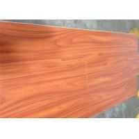 Wholesale Noiseproof Smooth Waterproof Wooden Floor , Cherry Laminate Flooring with DIY Installation from china suppliers