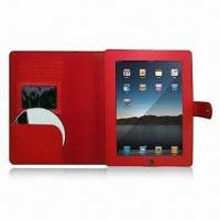 Wholesale Leather Case for iPad with CD Holder, OEM Colors are Welcome from china suppliers