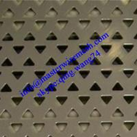 Quality Uncommon Shape Hole Perforated Mesh of Stainless Steel for sale