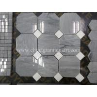 Wholesale Grey Marble Mosaic,Herribone Mosaice,Hexagon Mosaic,Basket Wave Design Mosaic from china suppliers