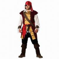 Wholesale Men's costumes for party and Halloween, Size from S to XL from china suppliers