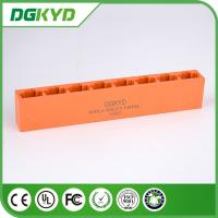 Wholesale Orange KRJ -592118NL Unshielded 8 Ports Rj45 8 Pin Connector Jack For Ethernet Switch from china suppliers