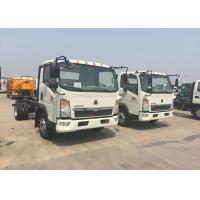 Wholesale 12 Tons HOWO Light Duty Commercial Trucks White Color 116HP Engine 4×2 Drive from china suppliers