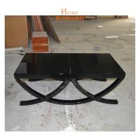 Wholesale Modern Rectangle High Glossy Wooden Coffee Table Black Or Customized from china suppliers