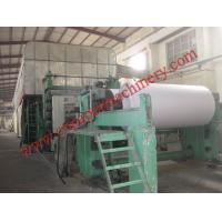 Wholesale 2100mm fourdrinier wire and multi-cylinder newspaper machine from china suppliers