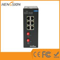 Wholesale Unmanaged 8 Port / 10 Port Network Switch ,  802.3u Ethernet Fiber Switch from china suppliers