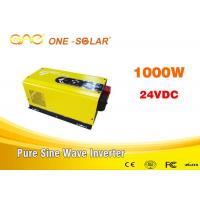 Wholesale Home Off Grid Solar Inverter 1000w Dc 24v Ac Inverter For Led Light from china suppliers