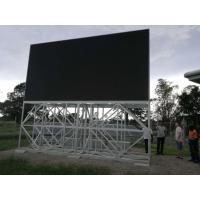 Buy cheap Outdoor P5.95mm P6.25mm RGB high brightness led billboard display with solar panels from wholesalers
