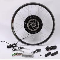 Wholesale 48v 1500w Speed 50-60 Km/H Hub Motor Kit , Electric Bike Kit With Battery Weight 11.5Kg from china suppliers