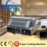 Wholesale SG330 desktop electric paper cutting machine paper guillotine paper cutter 320mm cutter from china suppliers