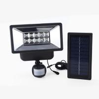 High quality security auto-sensing LED motion sensor outdoor solar flood light