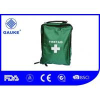Wholesale Recyclable Clear Pvc Earthquake Safety Kit , Basic Medical First Aid Box Equipment from china suppliers