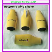 Wholesale Neoprene Zippered Bottle Holder, Neoprene bottle sleeve; from china suppliers