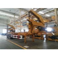 Wholesale 20ft 40ft Truck Mounted Crane Side Loader Sidelifter , Container Self Loading Semi Trailer from china suppliers