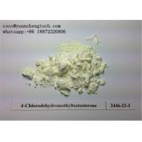 Wholesale Oral Turinabol Steroid Powder Testosterone Steroids 4-Chlorodehydromethyltestosterone from china suppliers