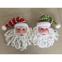Wholesale Santa claus heads hanging christmas decor from china suppliers