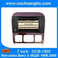 Wholesale Ouchuangbo Auto GPS Navigation for Mercedes Benz S W220 1998-2005 USB iPod DVD Radio Stereo System OCB-1505 from china suppliers