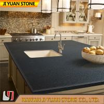 Dark Grey Artificial Quartz Kitchen Worktops Counter Vanity Table