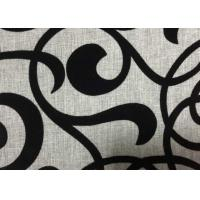 Wholesale Grey Polyester Flocked Fabric Upholstery Home Textile 210GSM Weight from china suppliers
