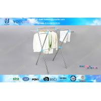 Wholesale Home / Garden Metal Balcony Clothes Drying Rack X-type for Quilt / Garment from china suppliers