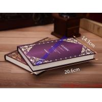 Wholesale Cover cloth fabric hard cover promotional a4 a5 custom hardcover notebook from china suppliers