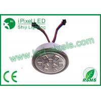 Wholesale 45Mm 9led Led Dot Lights , Full Color Amusement Rides waterproof LED module Lighting Bulb from china suppliers