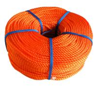 16mm PE PP Commercial Fishing Rope / Braided Polypropylene Rope