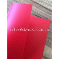 Wholesale Flexible & Rigid PVC Sheet Matt 0.2-2mm Thickness ,Assorted Colors from china suppliers
