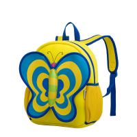 Wholesale Yellow 3D Butterfly Backpack Toddler , Cute Animal Backpacks 440g from china suppliers