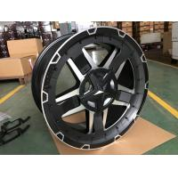 Wholesale Fuel - Efficient 4x4 Alloy Wheels With Gravity Casting / Lightweight Alloy Wheels from china suppliers