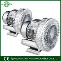 China Air vacuum pump with air filter silencer and release valve CNC router 5.5kw vacuum pump blower on sale