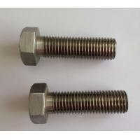 China 8.8 Grade Brass Hex Head Bolts, Carbon Steel Galvanized Steel Bolts Din 931 on sale