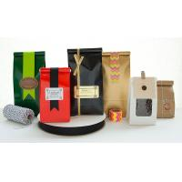 Wholesale PET Coffee Plastic Packaging Bags with Drawstring Tie from china suppliers