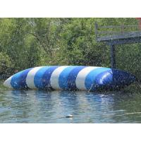 Wholesale Big Colorful Inflatable Water Blob , Inflatable Water Launch For Lake from china suppliers