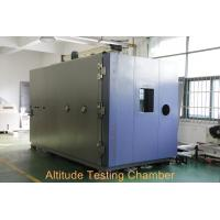 Wholesale High / Low Temperature Altitude Test Chamber Water Cooled For Low Pressure Testing from china suppliers