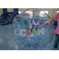 Wholesale Crazy Inflatable Human Ball / Durable Inflatable Hamster Ball For Humans from china suppliers