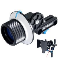 Buy cheap Professional Filmmaking Slot and AB Hard Stop Design DSLR Camera Follow Focus from wholesalers
